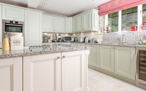 Mallow - with V Groove Joints - Painted Ivory and Timeless